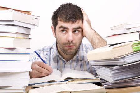 studying man Stock Photo - 4760143