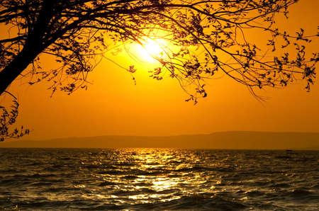 Sunset scene Stock Photo - 4792995