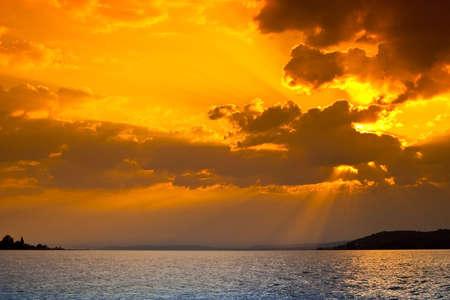Sunset scene Stock Photo - 5030201