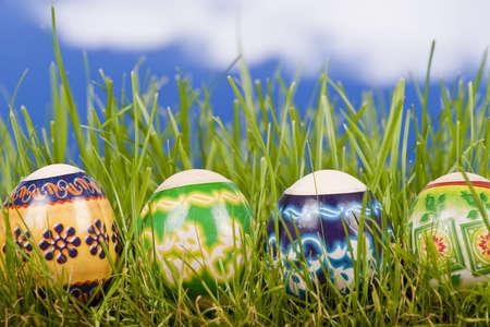 Easter egg background Stock Photo - 5011979