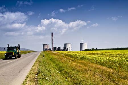 coal power plant Stock Photo - 5289749