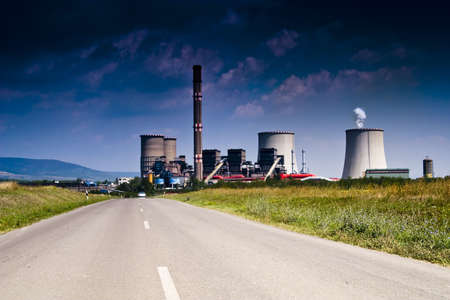 coal power plant Stock Photo - 5320459