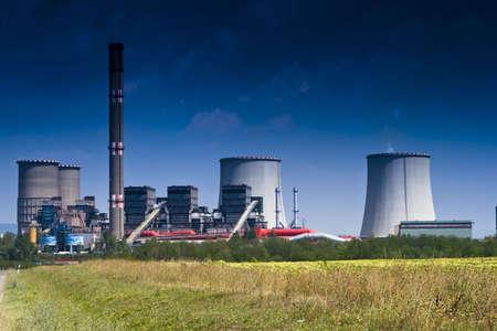 coal power plant photo