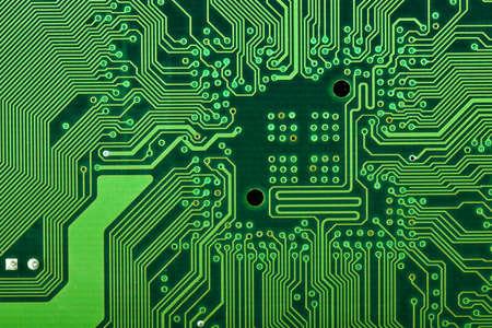 circuitos electricos: placa del ordenador