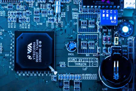 internals: computer board