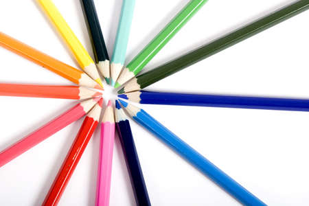 Colored pencil photo