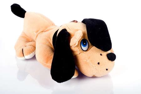 rnanimal: Brown doggy toy