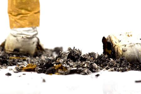 Anti-smoking campaign design: cigarette butt Stock Photo - 7902416