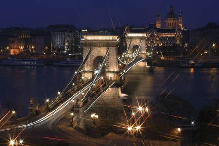 arhitect: Budapest at night Stock Photo