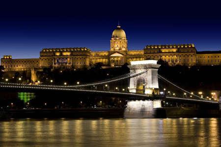 Night lights in Budapest-Hungary photo