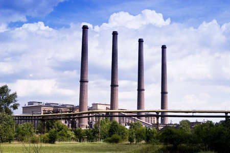 factory in the rural Stock Photo - 5897379
