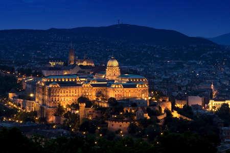 Buda Castle Budapest photo