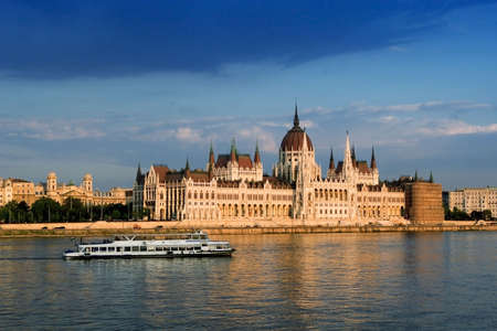 Parliament (Hungary-Budapest) Stock Photo - 5897311