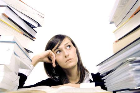 studying girl Stock Photo - 6056209