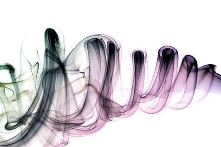 Colorful smoke photo