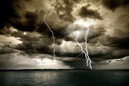 Big thunderbolt Reklamní fotografie