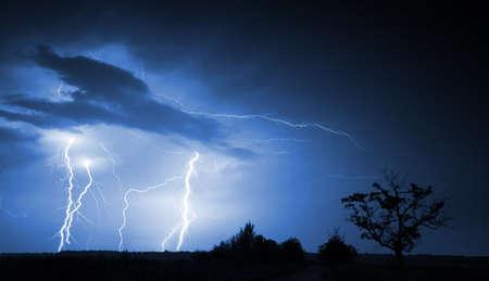 Big thunderbolt photo