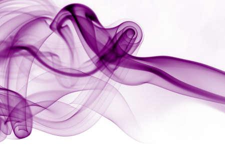 white silk: Abstract smoke Stock Photo
