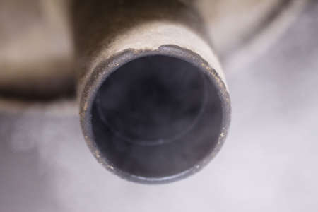 Smoke exhaust pipe car Stock Photo - 6576289