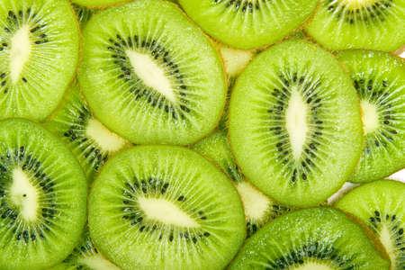 tropical fruits: Kiwi Background