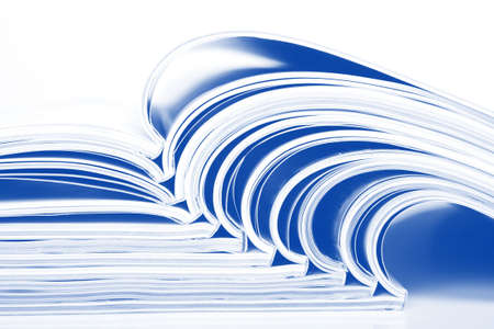Magazines over white Stock Photo - 6650408
