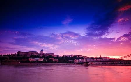 arhitect: Budapest-Capatil city of Hungary Stock Photo