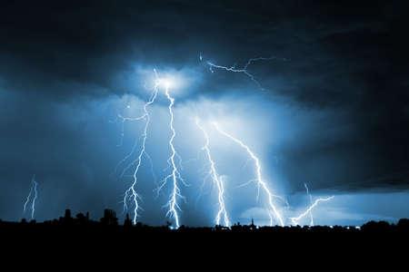 Big thunderbolt Stock Photo - 6831799