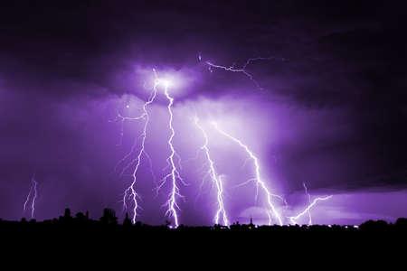 Big thunderbolt Stock Photo - 6831806