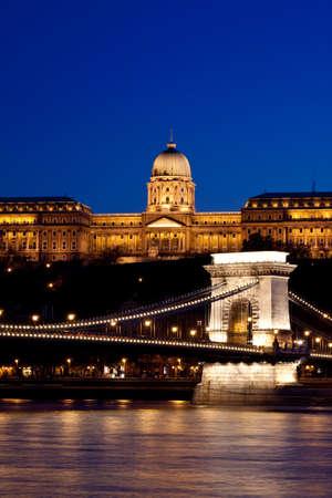 Night lights in Budapest-Hungary Stock Photo - 6832820