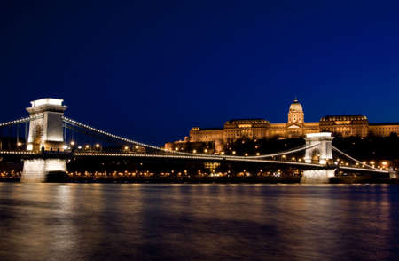 Night lights in Budapest-Hungary Stock Photo - 6832921