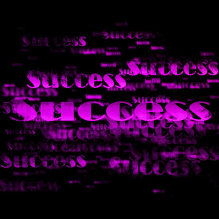 Success background  photo