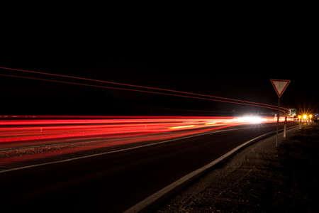 Traffic at night  Stock Photo - 6938502