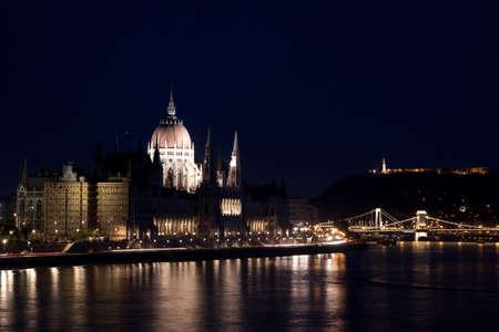 Night lights in Budapest-Hungary  Stock Photo - 7102912