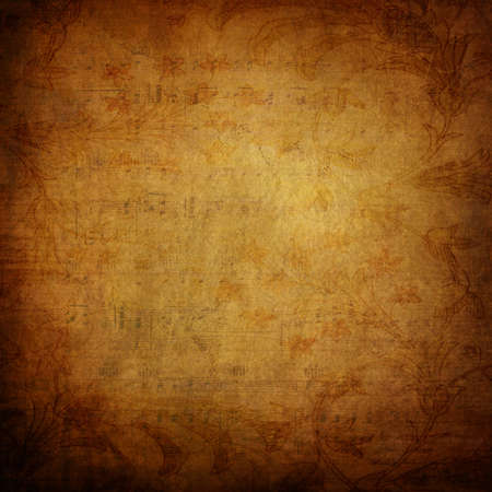 Old paper grunge background Stock Photo - 7384556