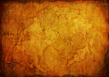 Ancient map. Old Paper Texture  photo