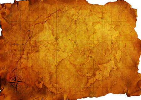 Ancient map. Old Paper Texture  Stock Photo - 7384594
