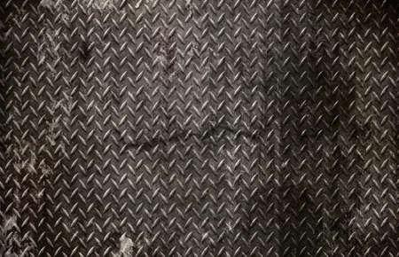 grunge diamond metal background Stock Photo - 7419570