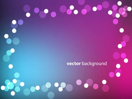 abstarct lights background  Vector