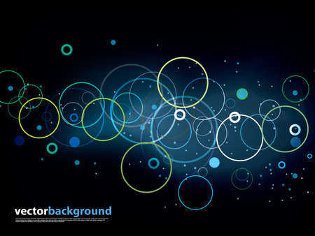 gradient meshes: Abstract vector backgrounda