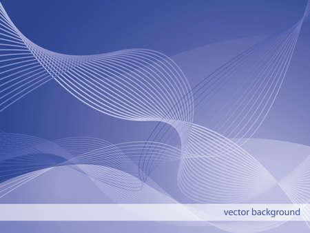Abstract waves backgrounda Vector