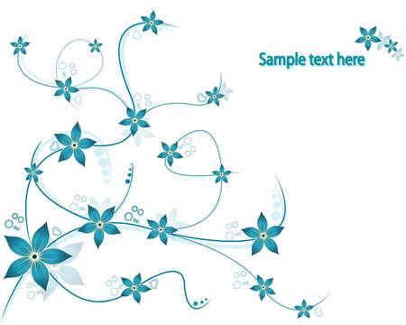 wallpaperrn: Vector Floral backround  Illustration
