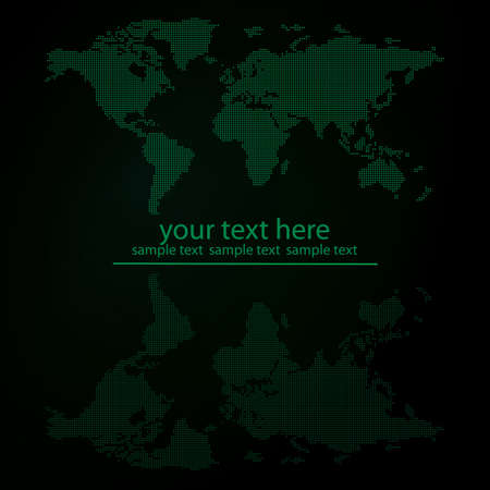vector map design Illustration