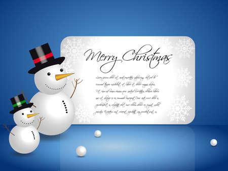 Snowman Stock Photo - 9190936