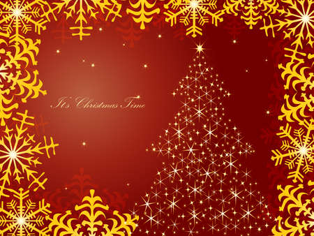 Christmas background Stock Vector - 8273931
