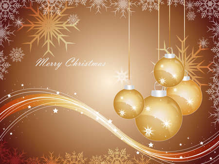 Christmas abstraction. illustration for design Stock Vector - 8273969
