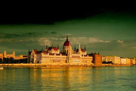 Parlamento (Hungría-Budapest)