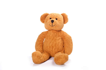 Teddy-bear isolated on a white background Standard-Bild