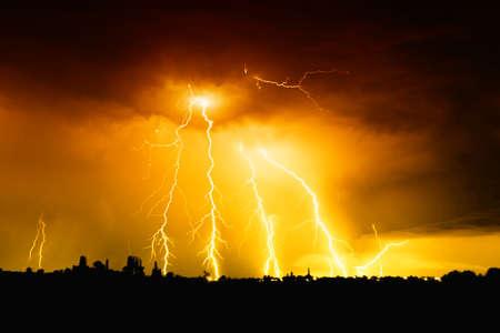 rayo electrico: Gran rayo