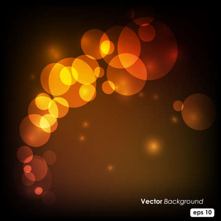 defocus: abstarct lights background Illustration