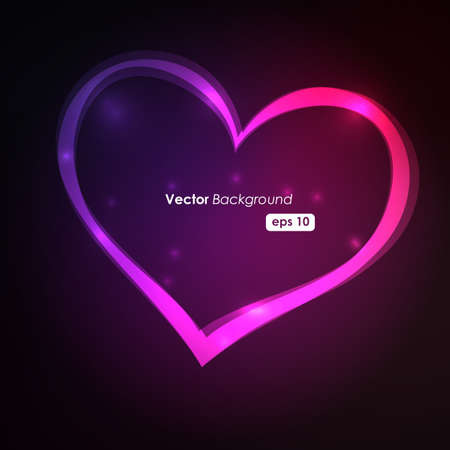 corazones azules: Dise�o vectorial
